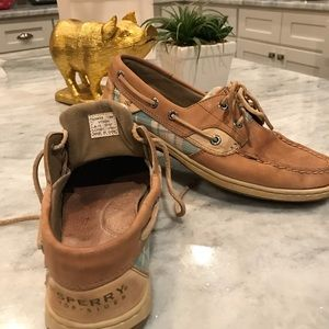 Sperry Shoes - Sperry Top-Sider Leather/Plaid Preppy (7.5)🌴☀️💕